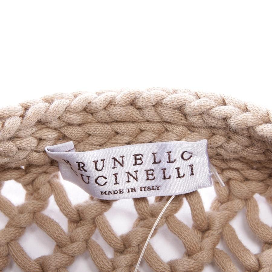 Stricktop von Brunello Cucinelli in Beige Gr. L
