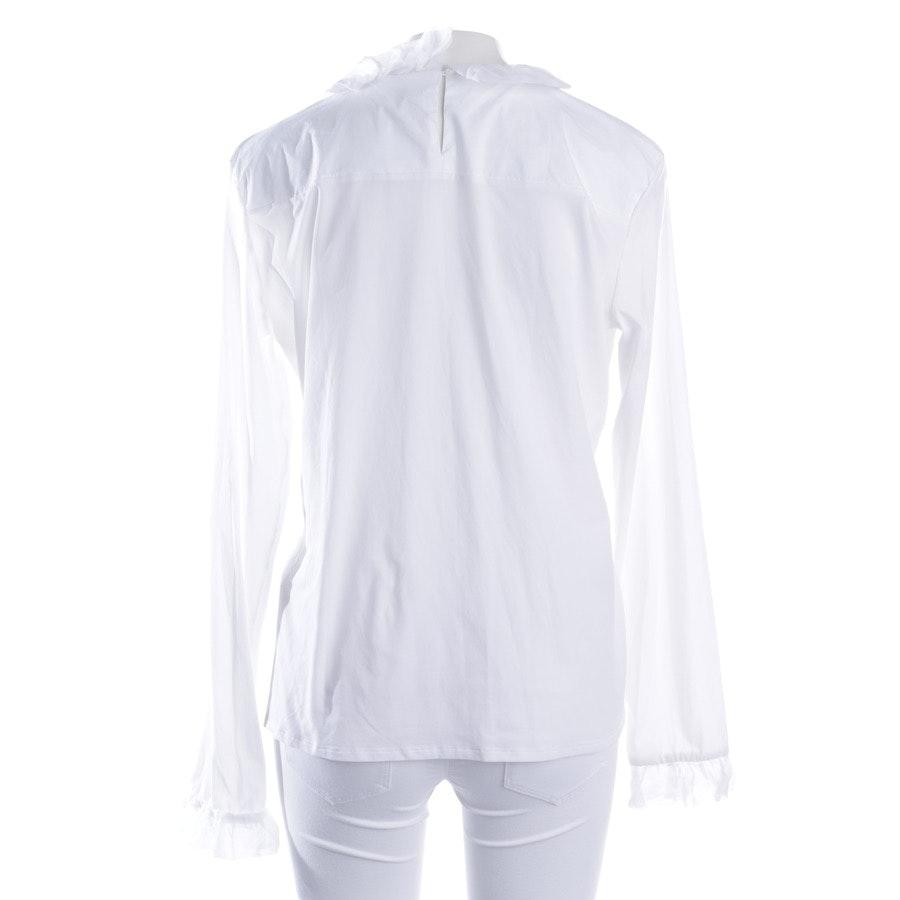 Bluse von Marc Cain in Weiß Gr. 44 N6