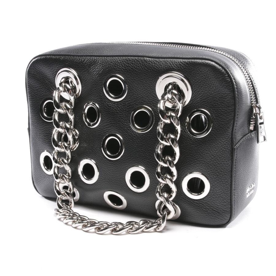 Schultertasche von Prada in Schwarz - Neu- Daino Perforated Chain Shoulder Bag