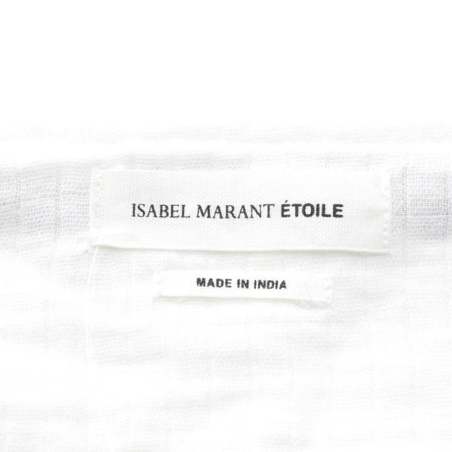 Rock von Isabel Marant Étoile in Weiß und Blau Gr. DE 34 FR 36