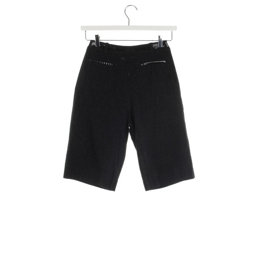 Shorts von Lala Berlin in Dunkelgrau Gr. L - Nola - Neu