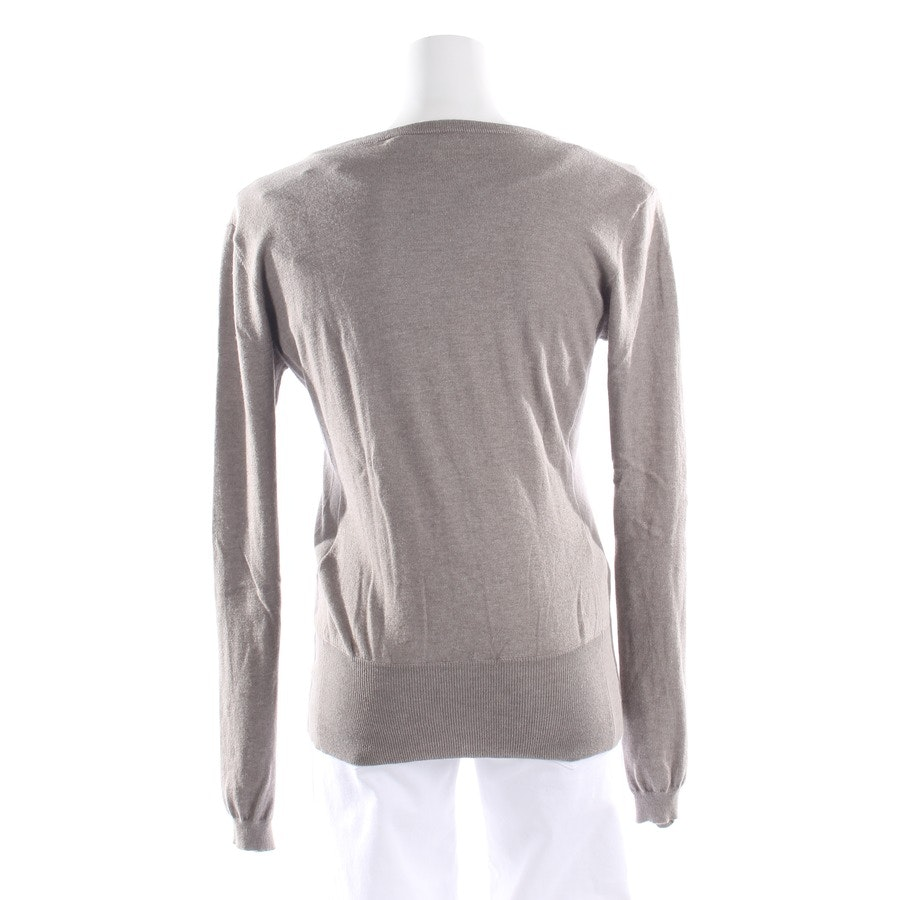 knitwear from Allude in grey-brown size S