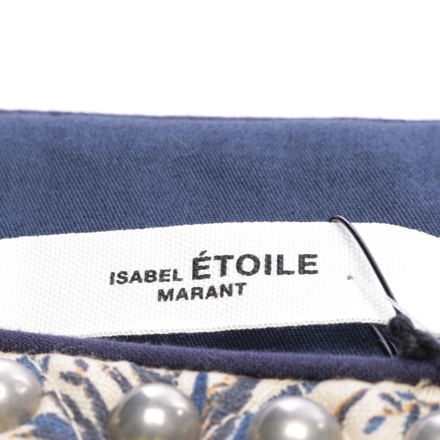 Rock von Isabel Marant Étoile in Beige und Blau Gr. 36 FR 38 - Neu