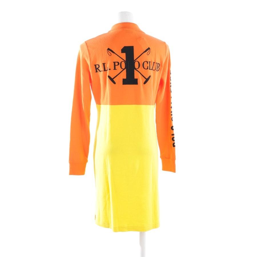 Kleid von Polo Ralph Lauren in Orange und Gelb Gr. L