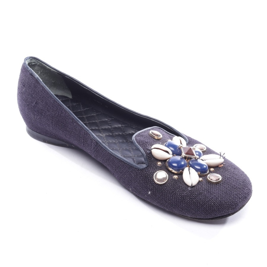 loafers from Tory Burch in dark blue size EUR 39,5 US 9
