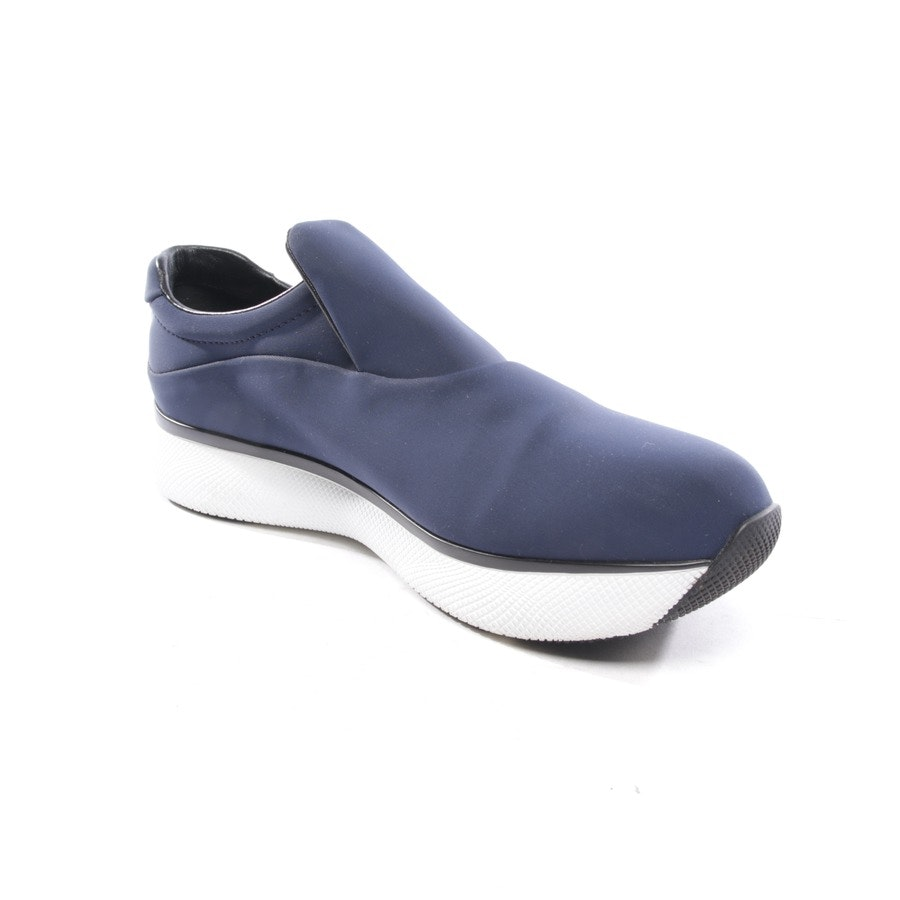 trainers from Prada Linea Rossa in dark blue size D 40,5 - new