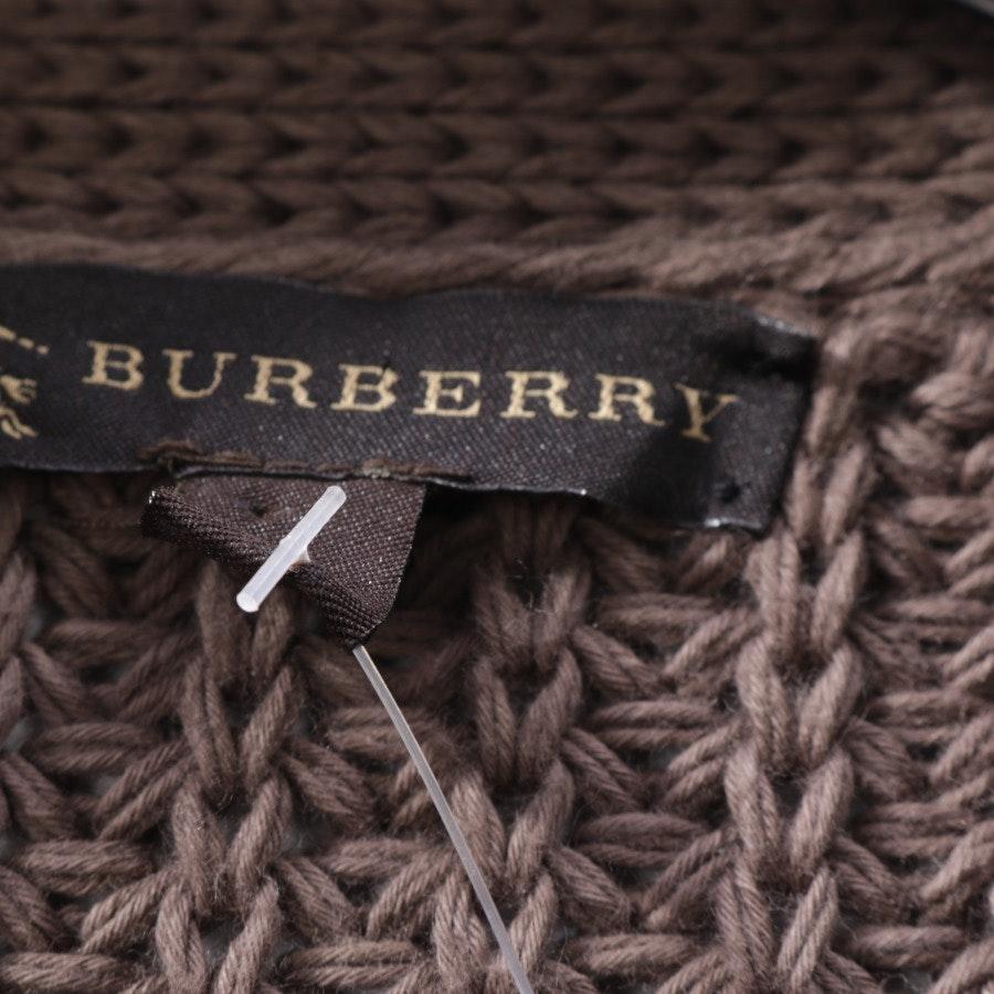 Strickjacke von Burberry in Graubraun Gr. M