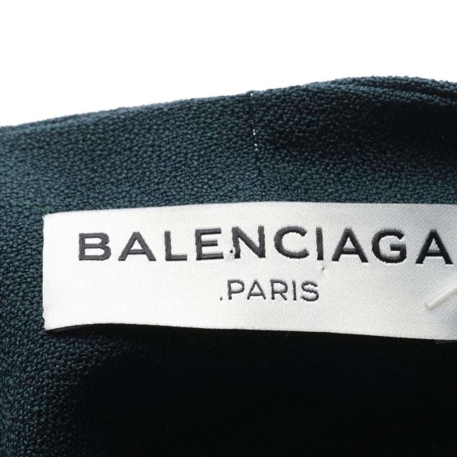 Cocktailkleid von Balenciaga in Petrol Gr. 34 FR 36