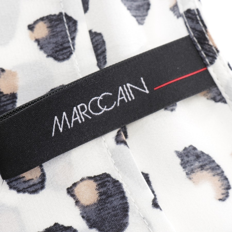 dress from Marc Cain in white and multicolor size 42 N5