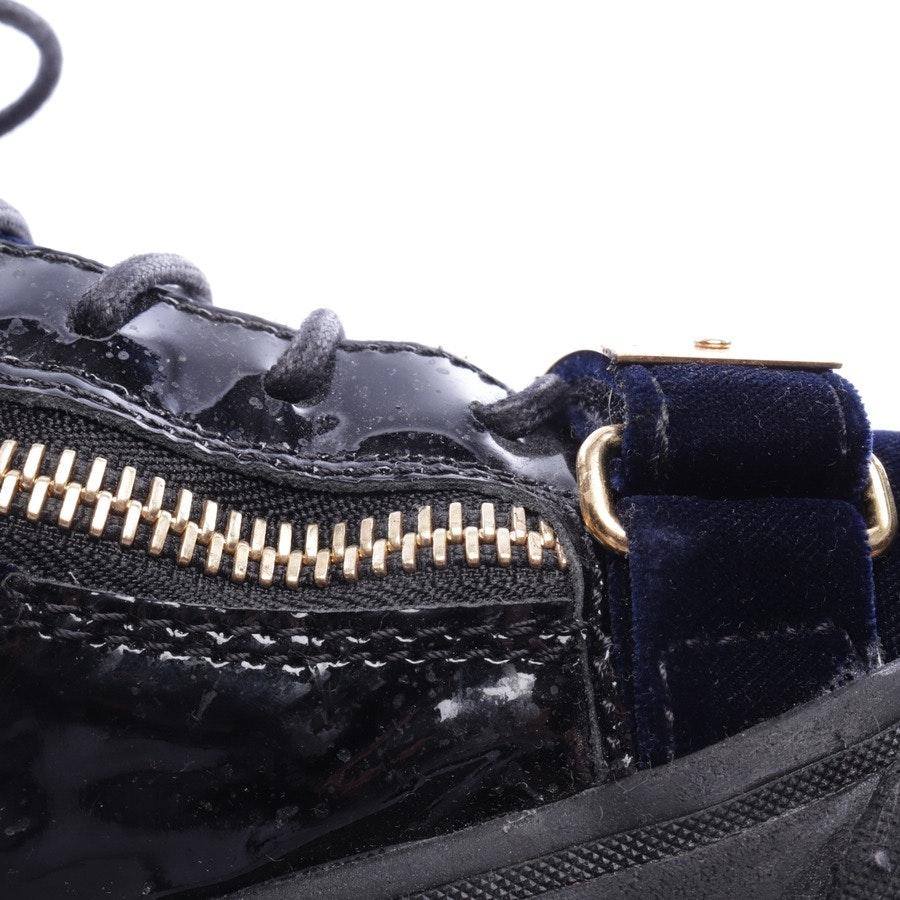 Sneaker von Giuseppe Zanotti in Nachtblau Gr. D 42