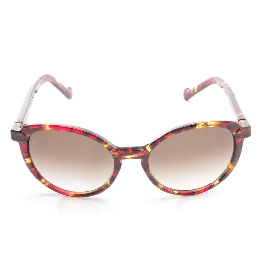 Sonnenbrille von Louis Vuitton in Gelb und Rot - Z0808W