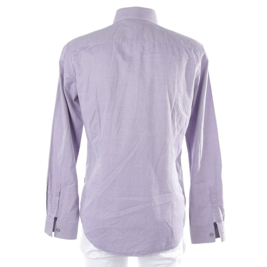 business shirt from Hugo Boss Black Label in purple and white size M