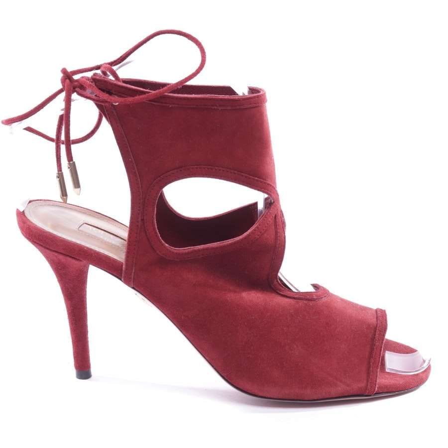 heeled sandals from Aquazzura in burgundy size D 37,5 - new