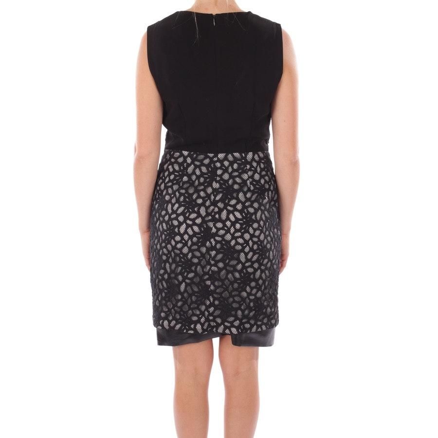Kleid von Diane von Furstenberg in Schwarz und Weiß Gr. DE 34 US 4 - Tilda Shadow Dot Lace