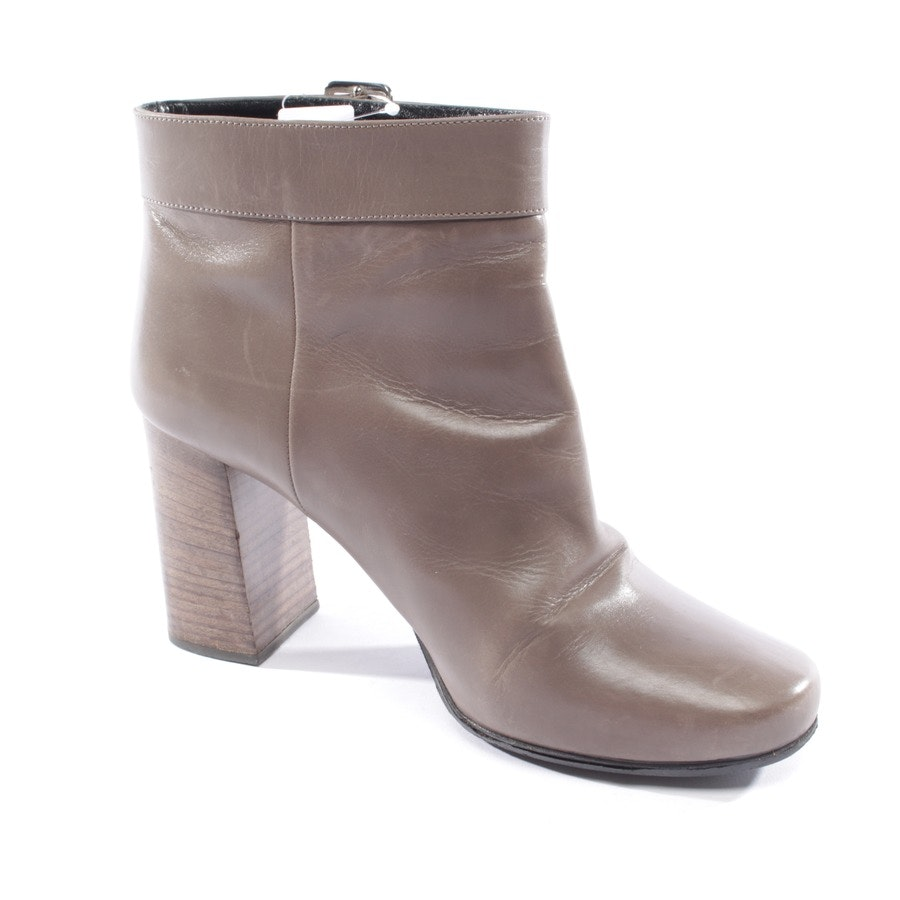 ankle boots from Prada in taupe size EUR 39,5