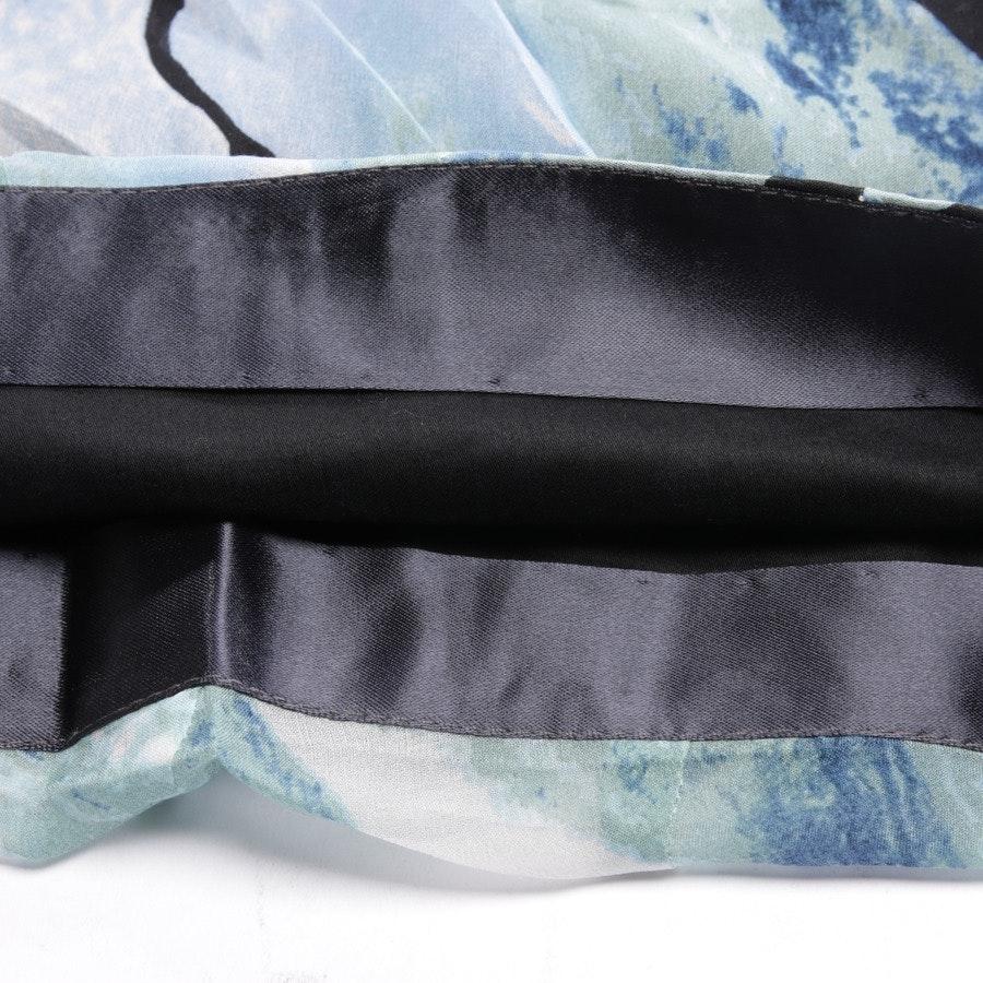 Seidenkleid von Diane von Furstenberg in Multicolor Gr. 38 US 8