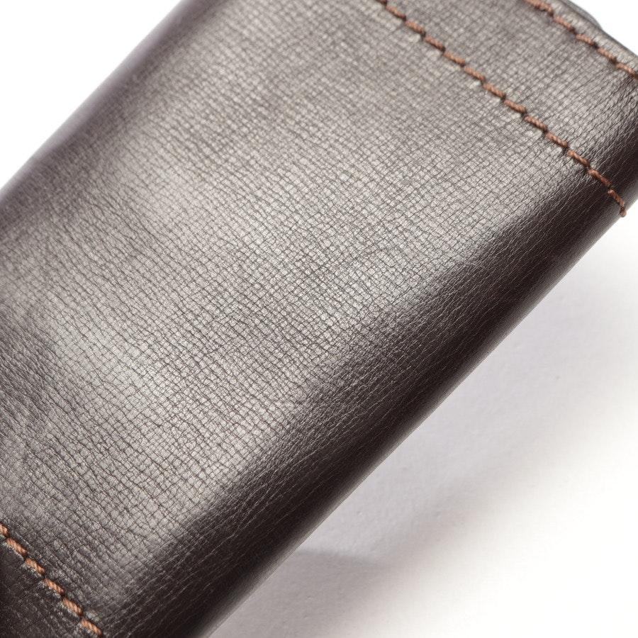 Schlüsseletui von Louis Vuitton in Braun