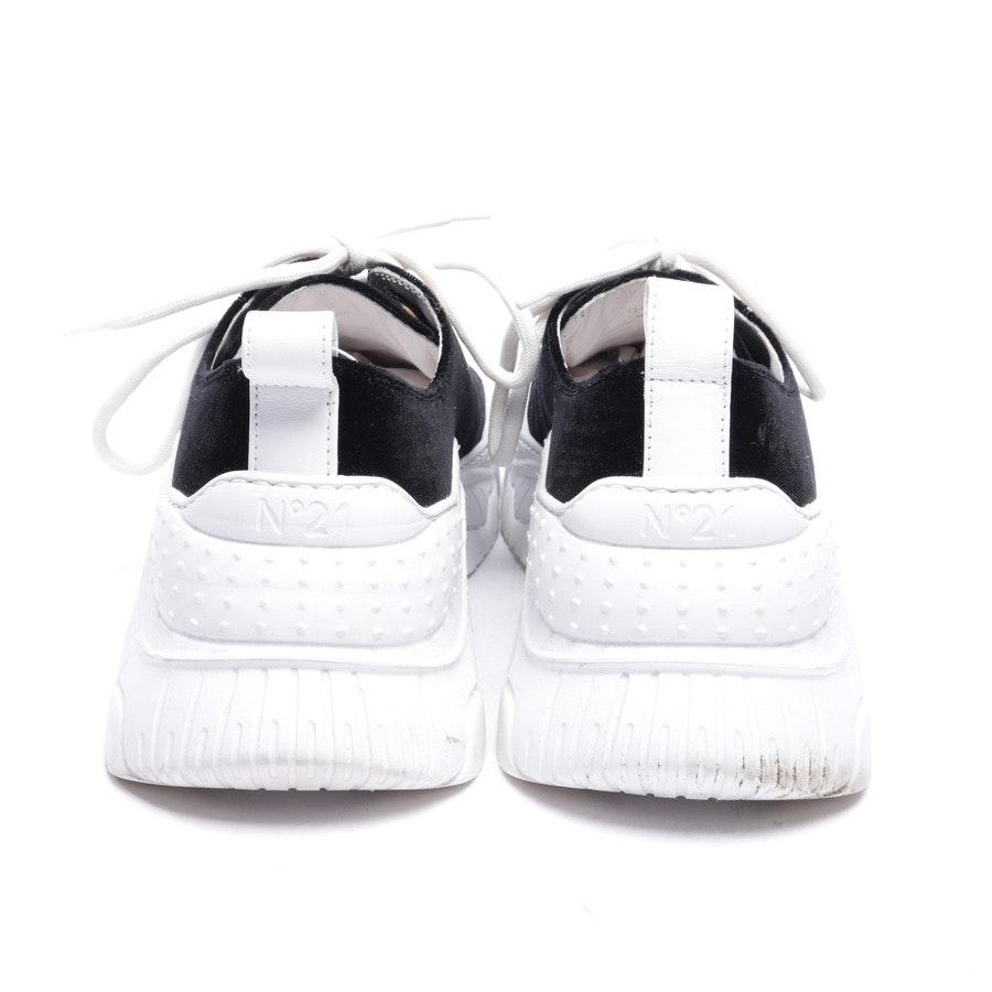 Sneaker von N°21 in Schwarz und Weiß Gr. EUR 40