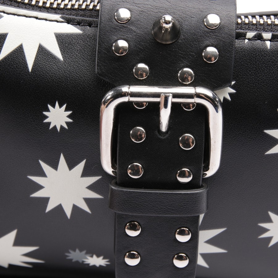 evening bags from Red Valentino in black and multi-coloured