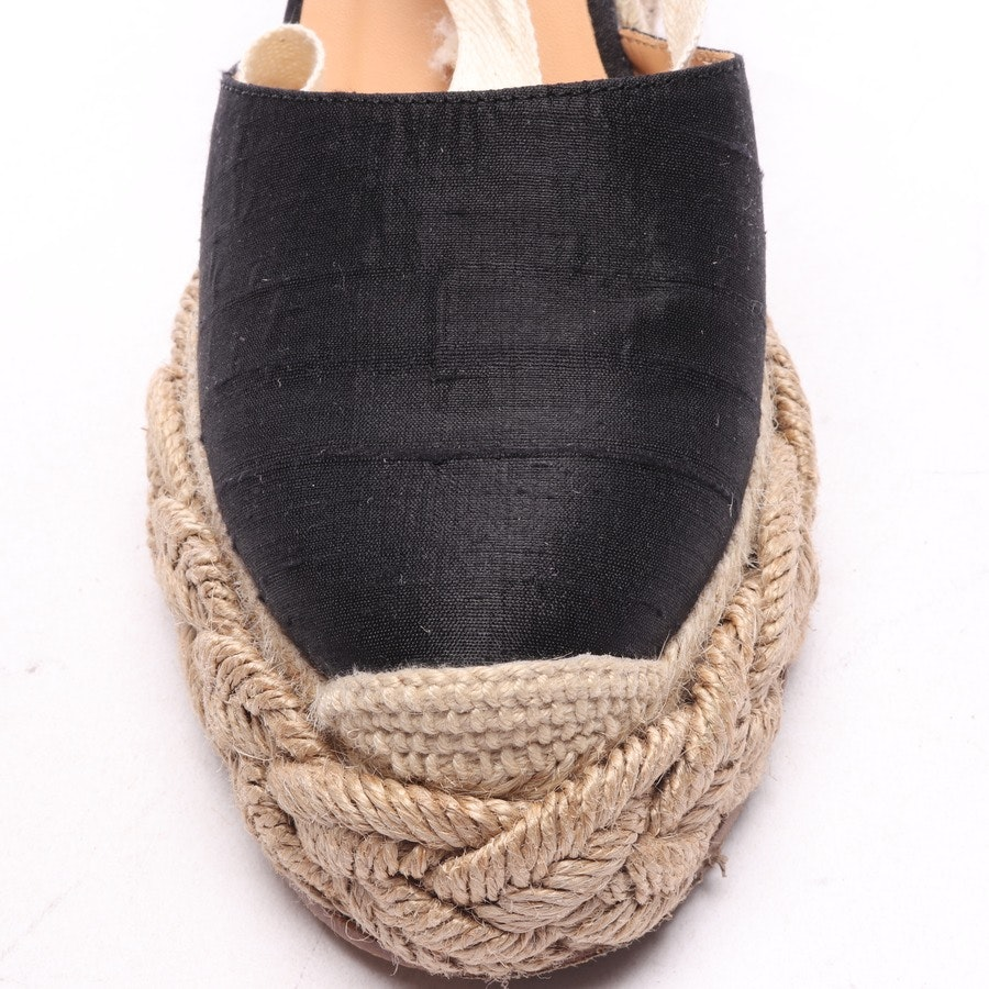 pumps from Paloma Barcelo in black and natural size D 36