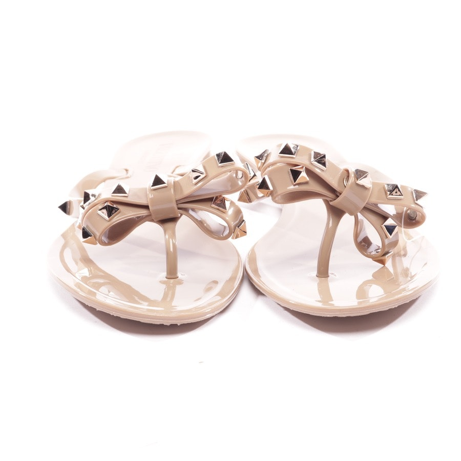 flat sandals from Valentino in beige size D 40 - rockstud