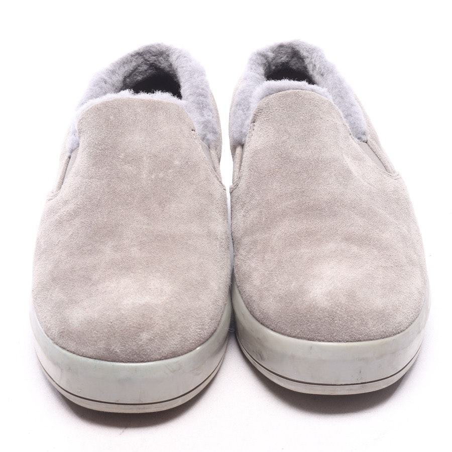 loafers from Prada Linea Rossa in grey size EUR 40
