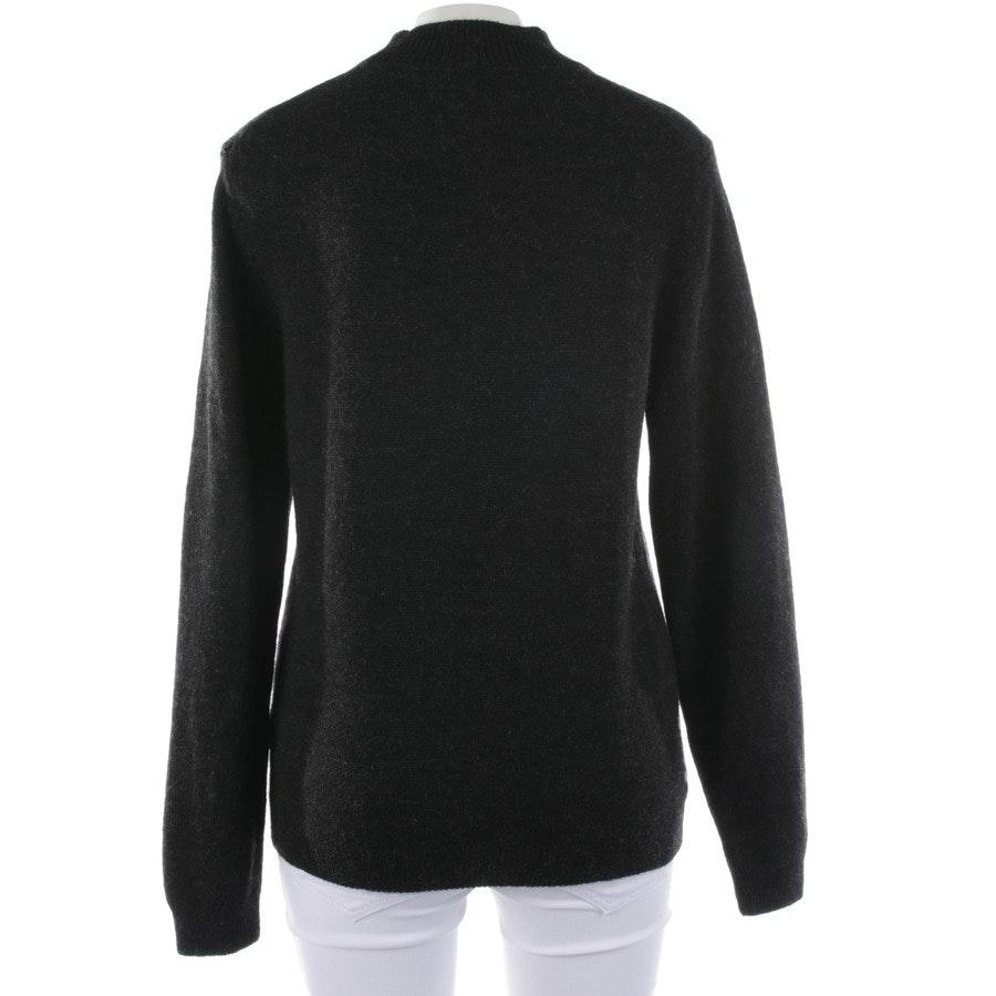 Pullover von Hugo Boss Black Label in Anthrazit und Weiß Gr. S