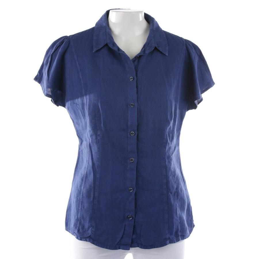 Leinenbluse von Armani Jeans in Blau Gr. 38 IT 44