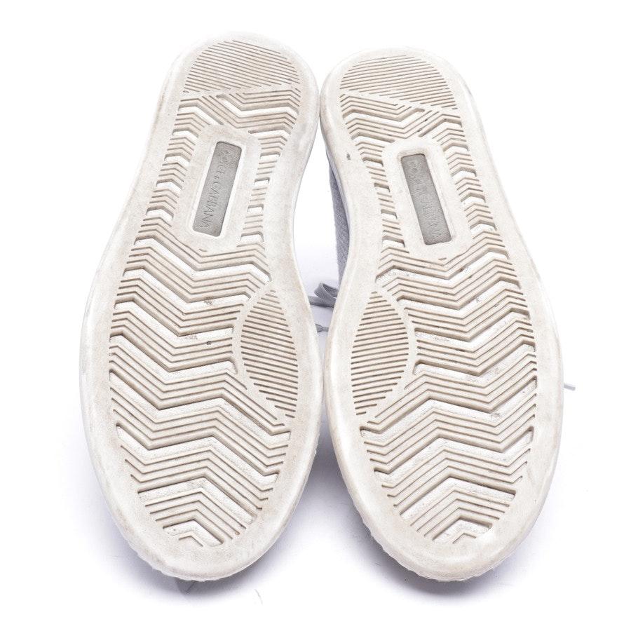 High-Top Sneaker von Dolce & Gabbana in Hellgrau Gr. EUR 44 UK 10