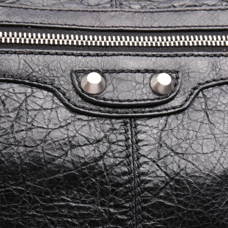 Clutch von Balenciaga in Schwarz