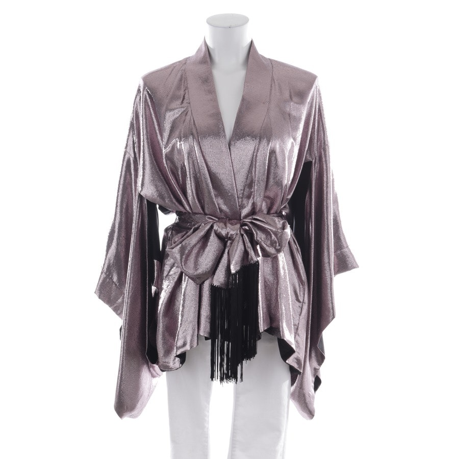 summer jackets from Hillier Bartley in purple and silver size 38 US 8 - new