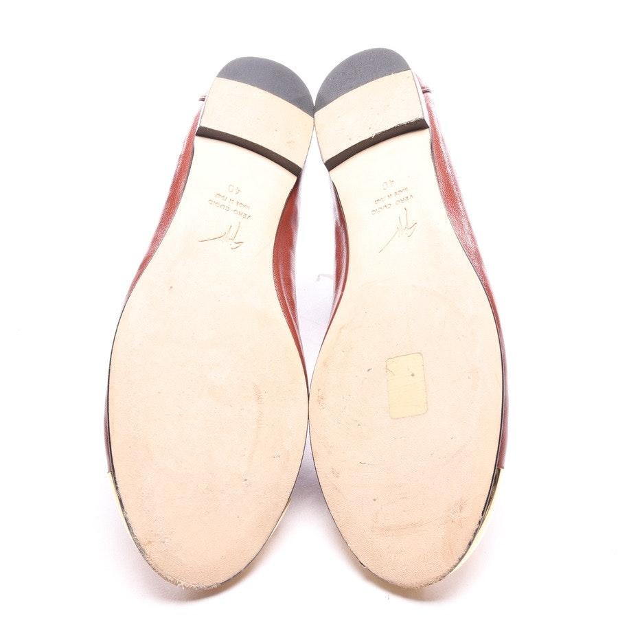 Ballerinas von Giuseppe Zanotti in Braun Gr. EUR 40