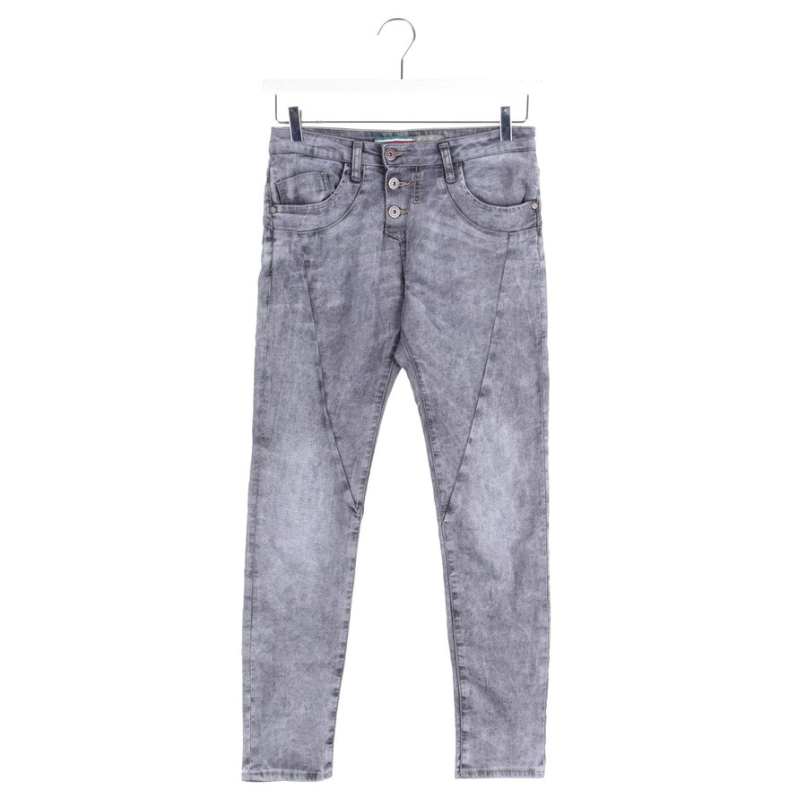 Jeans von Please in Graumelange Gr. XXS