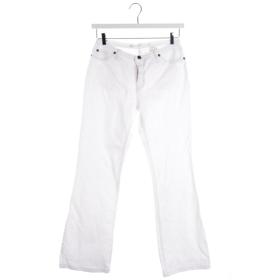 Jeans von Schumacher in Weiß Gr. M