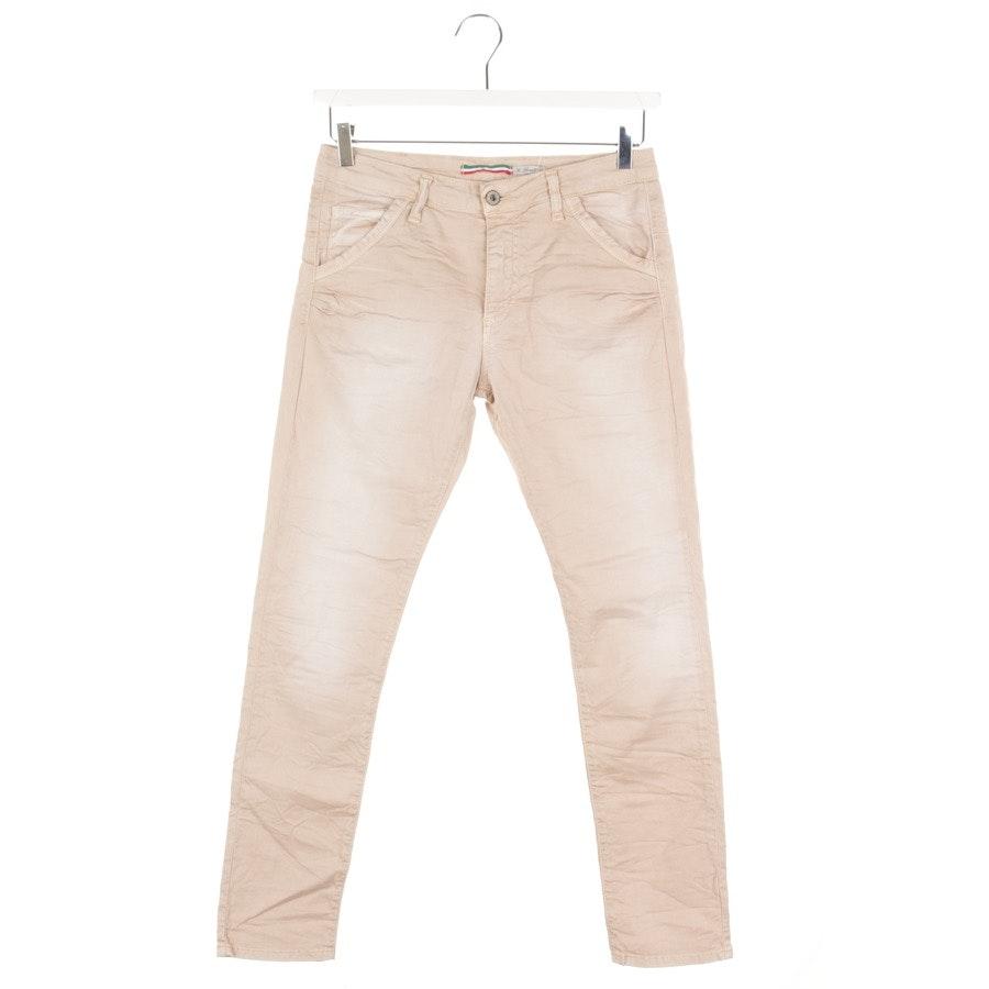 Jeans von Please in Beigerosa Gr. XS
