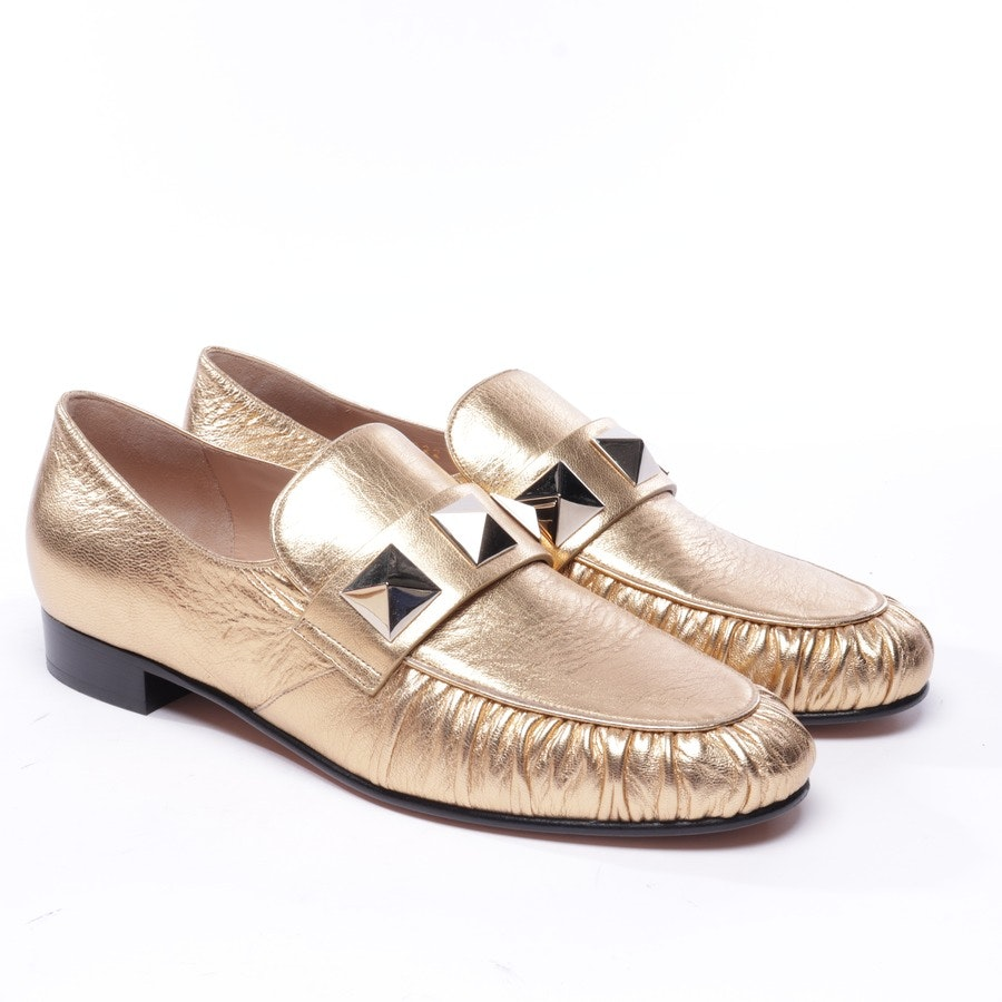 loafers from Valentino in gold size EUR 38 - rockstud