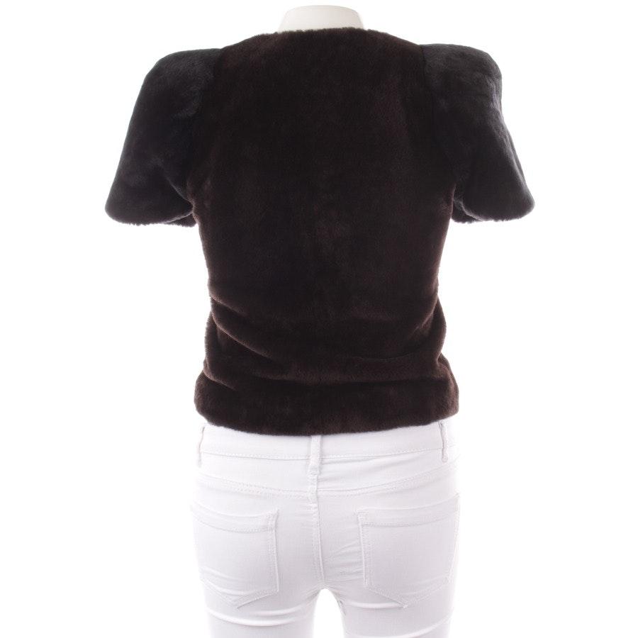 between-seasons jackets from Schumacher in dark brown and black size DE 38 / 2
