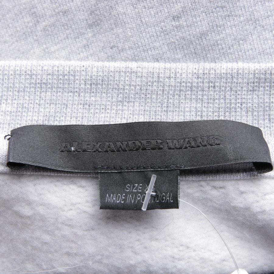 Sweatshirt von Alexander Wang in Grau meliert Gr. XS