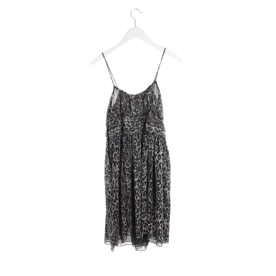 Kleid von Second Female in Schwarz und Grau Gr. S