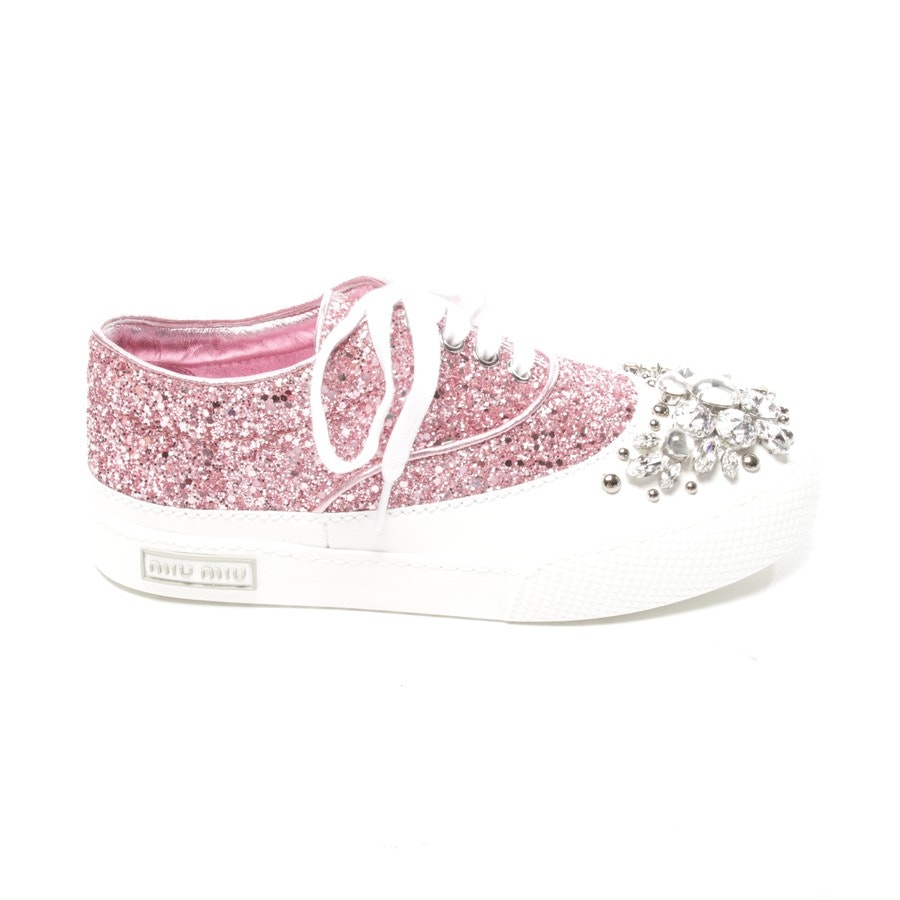 trainers from Miu Miu in pink and white size D 35 - new