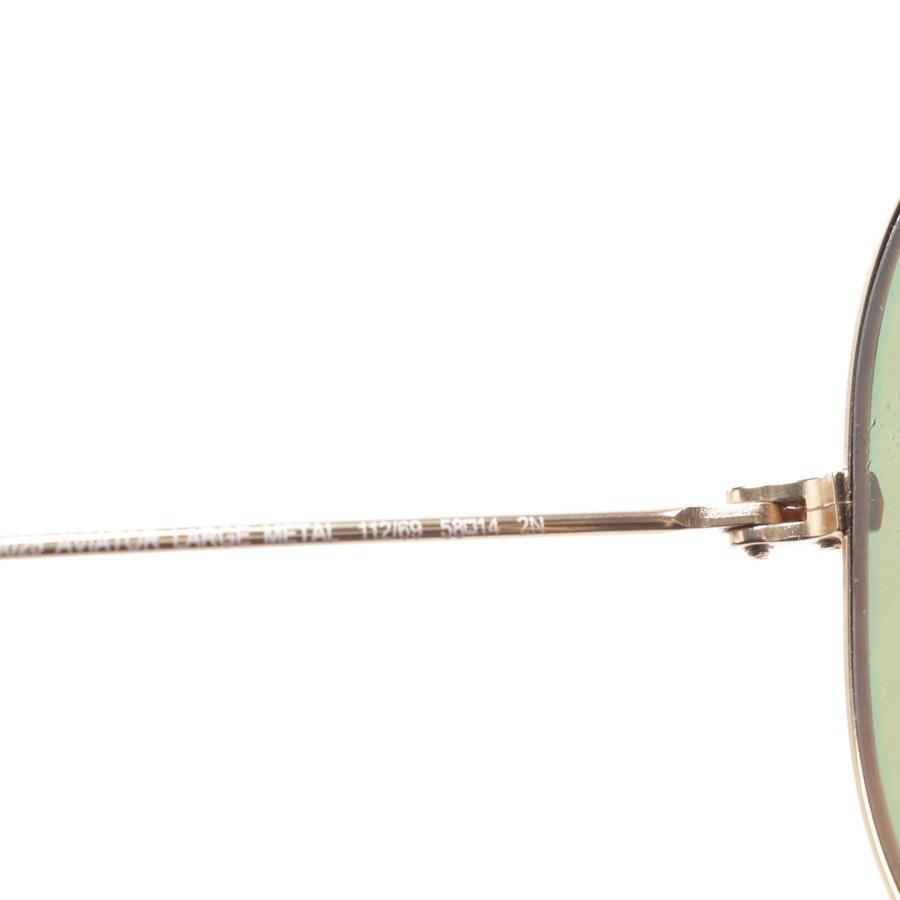 Sonnenbrille von Ray Ban in Gold - Aviator Large Metal