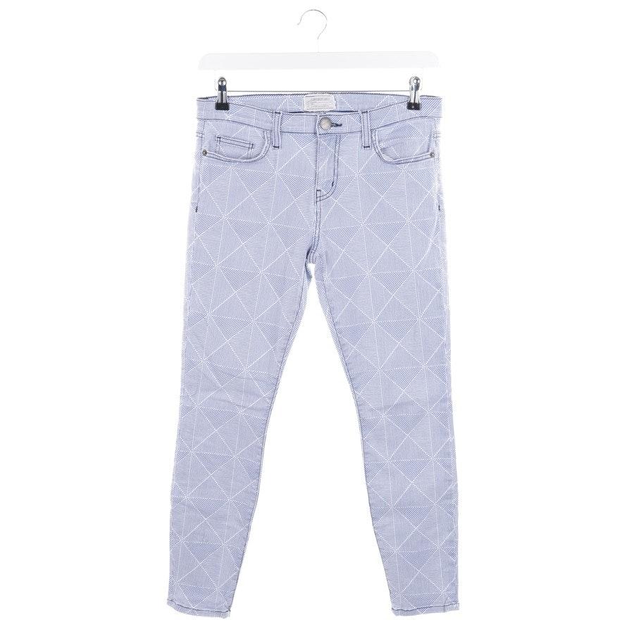 Jeans von Current/Elliott in Blau und Weiß Gr. W29 - The Stiletto