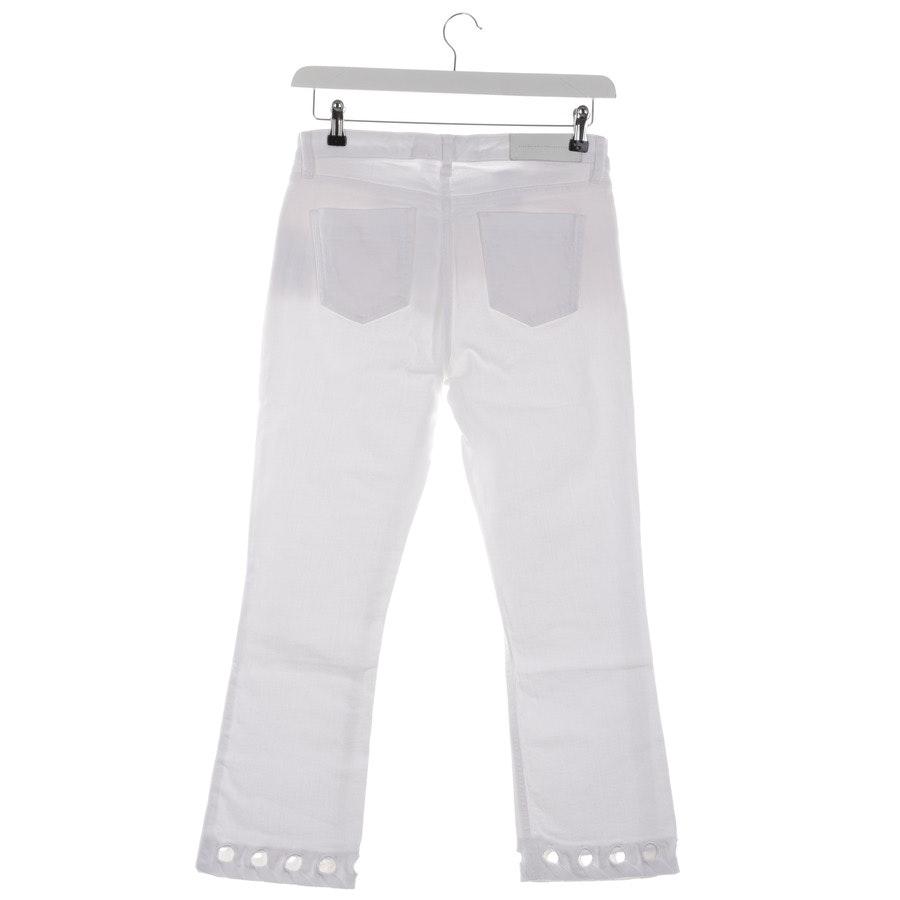 Jeans von Victoria Beckham in Weiß Gr. W27