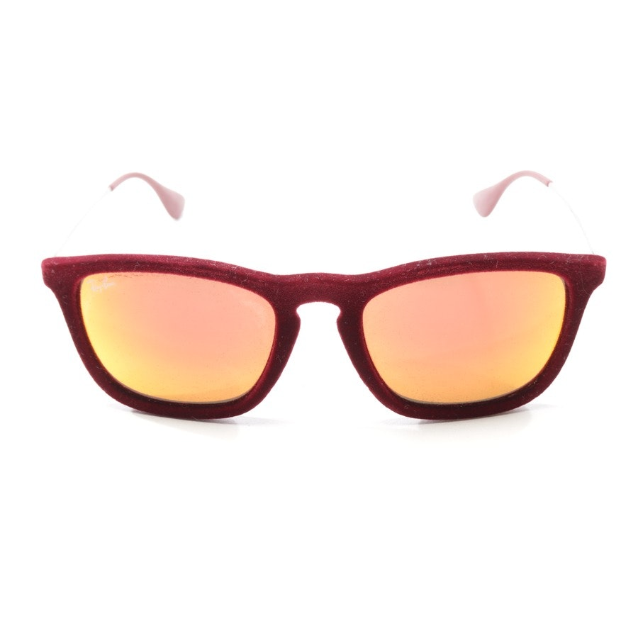 sunglasses from Ray Ban in wine red and silver - chris