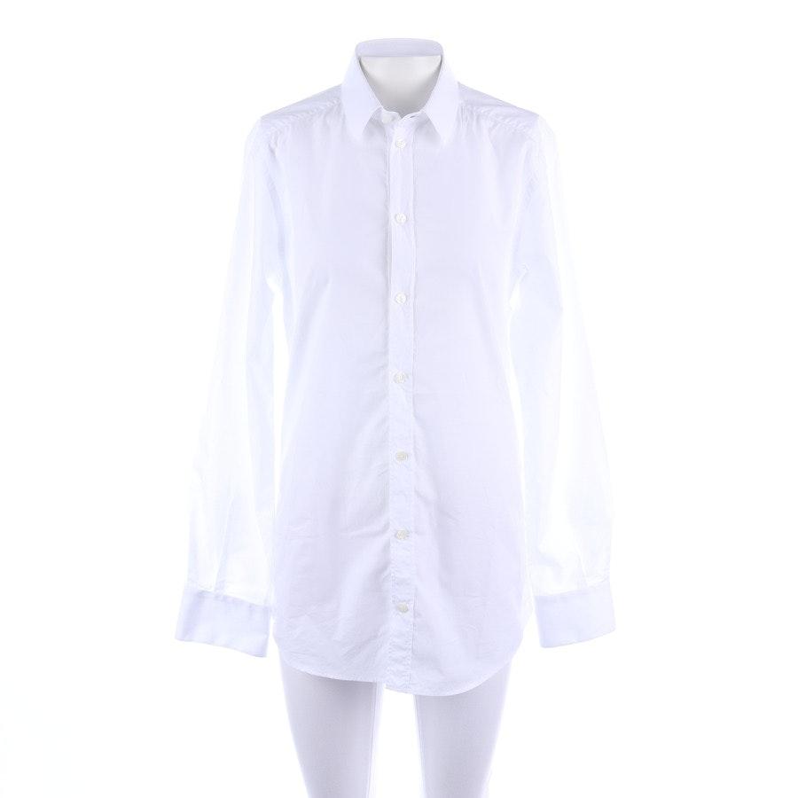 Businesshemd von Dolce & Gabbana in Weiß Gr. 37-38