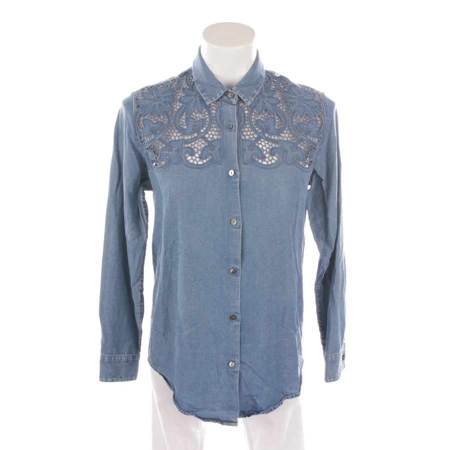 Bluse von The Kooples in Taubenblau Gr. 38