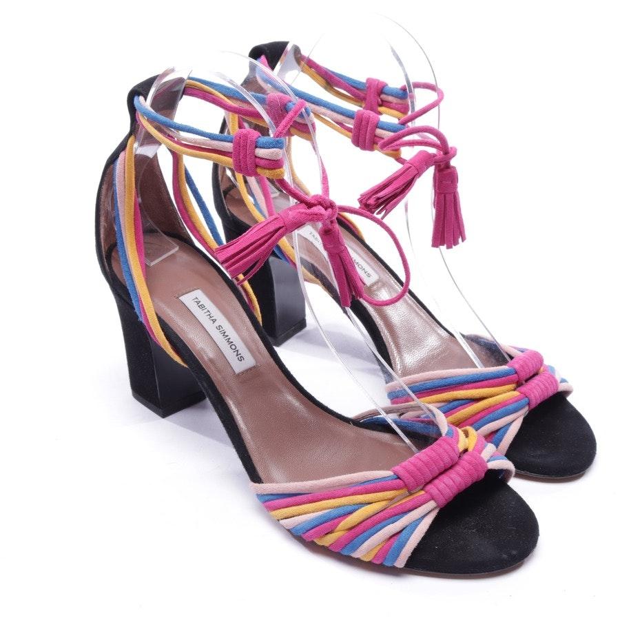 Sandaletten von Tabitha Simmons in Schwarz und Multicolor Gr. EUR 38,5
