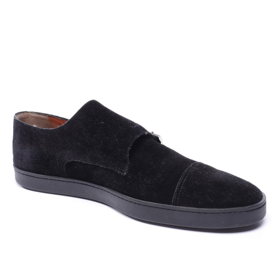 loafers from Santoni in black size EUR 43,5 / 9,5