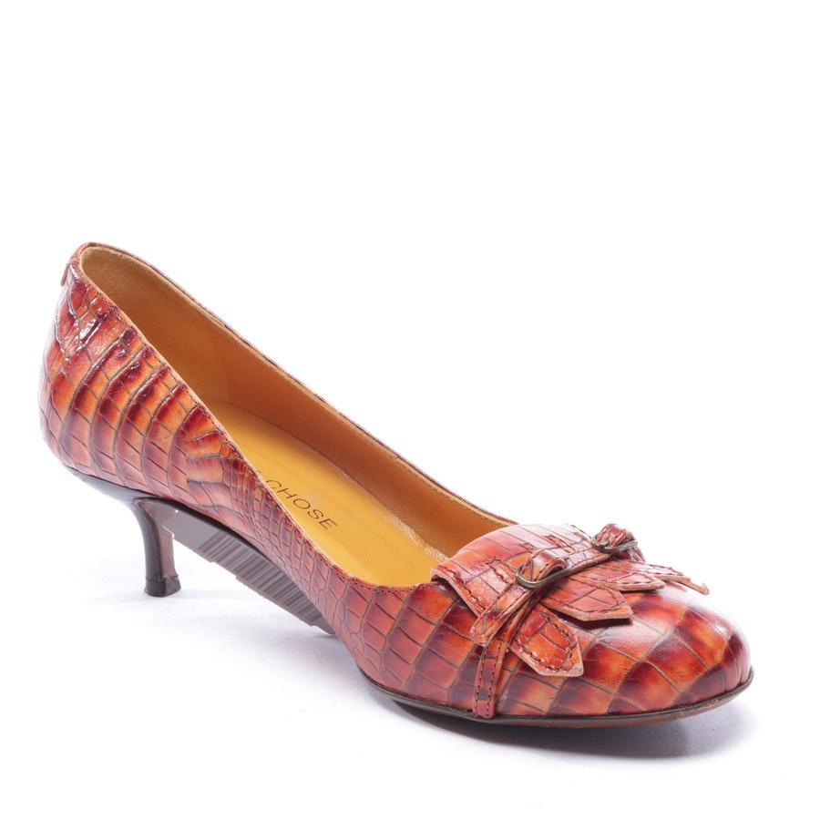 Pumps von L'autre chose in Orange Gr. D 37
