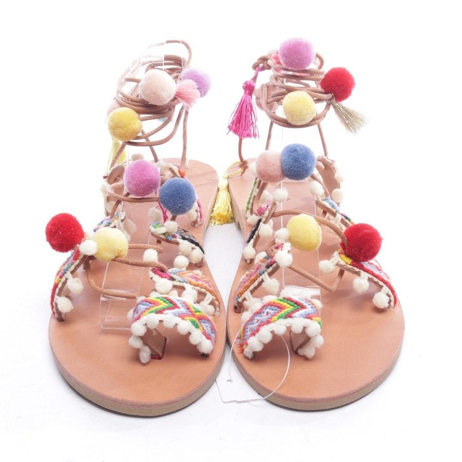 Sandalen von Sofia Manta in Multicolor Gr. D 40
